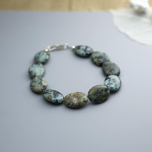african-jasper-oval-bracelet